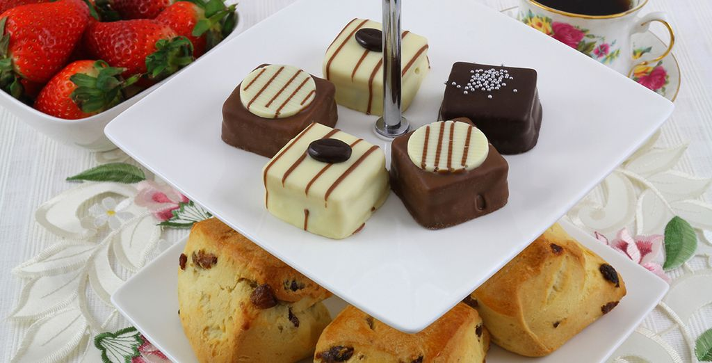 Or indulge in a little afternoon tea