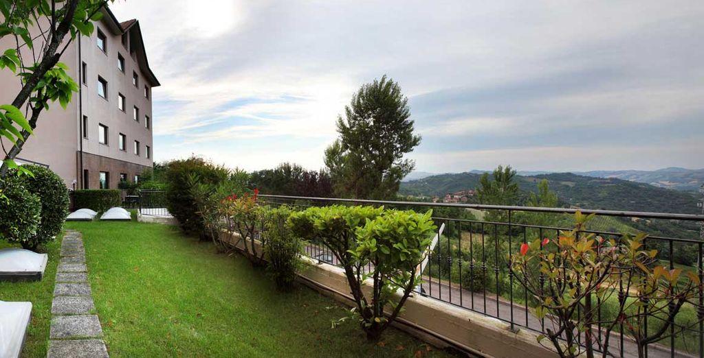 Set in the green hills around Urbino