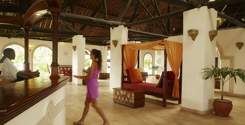 Where hospitality & African architecture blend perfectly