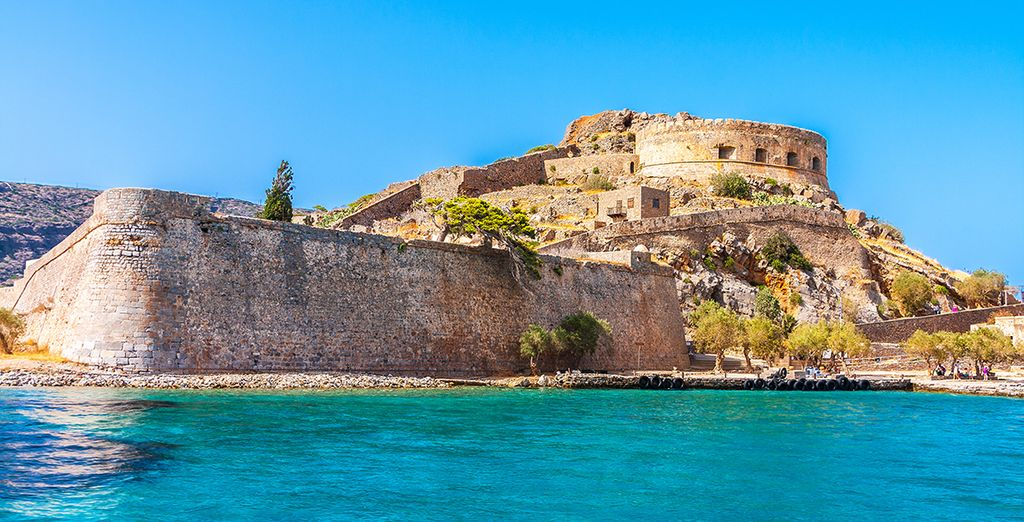 Or go further afield an roam the eerie beauty of Spinalonga