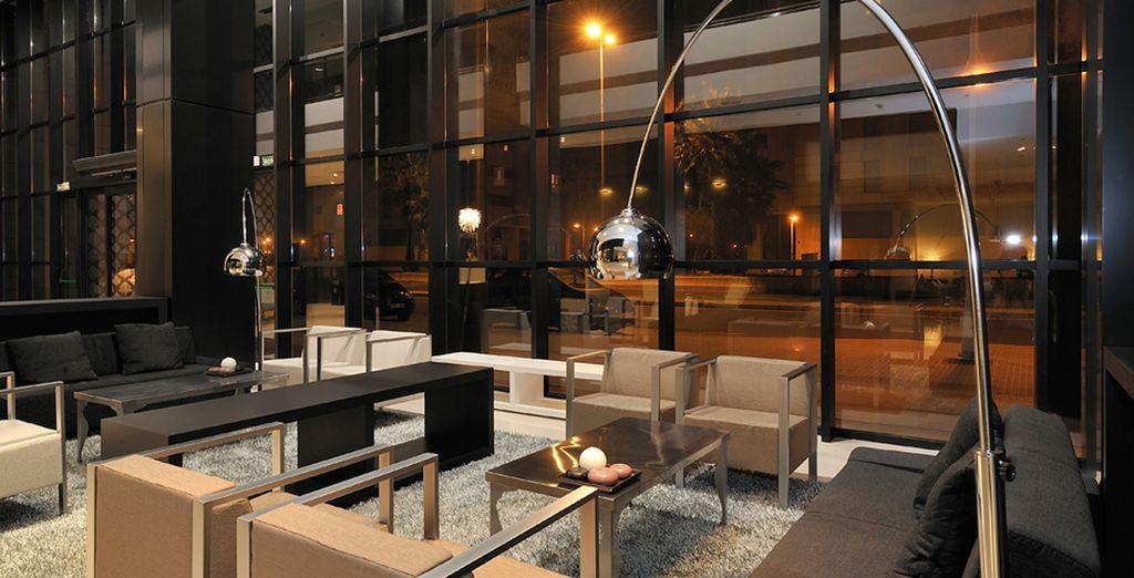 Where sleek contemporary design greets you