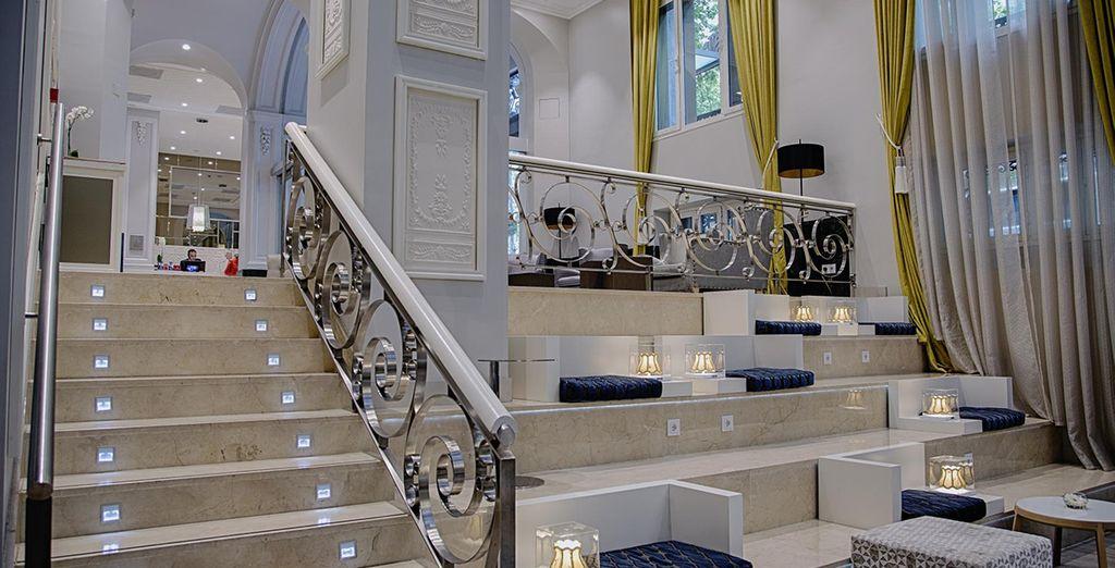 This sleek design hotel
