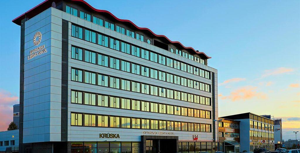Offer includes 3 or 4 nights at Reykjavik Lights Hotel