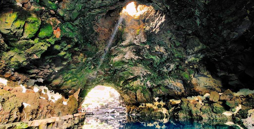 The caverns of Jameos del Agua in Lanzarote