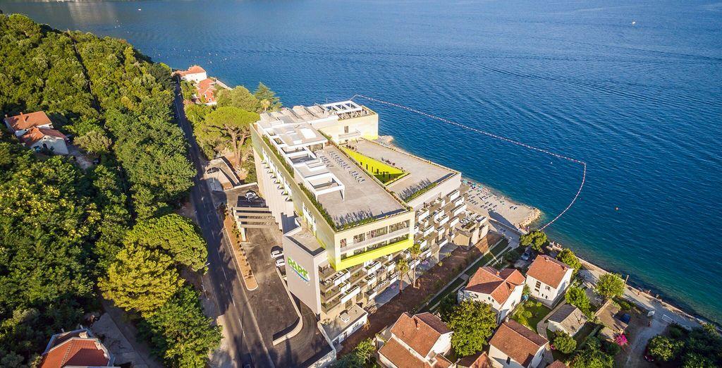 Hôtel Park Bijela is waiting for you