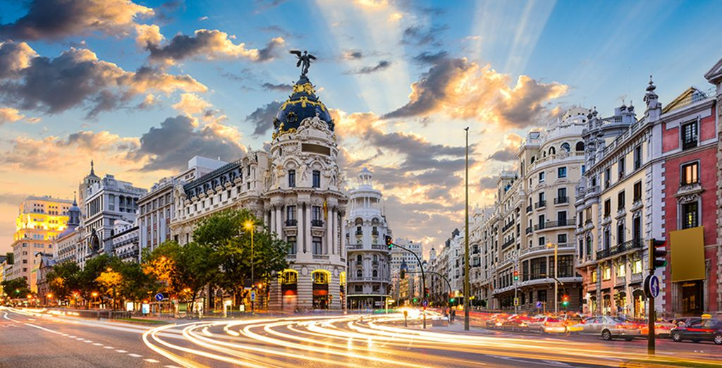 Welcome to the city of Madrid