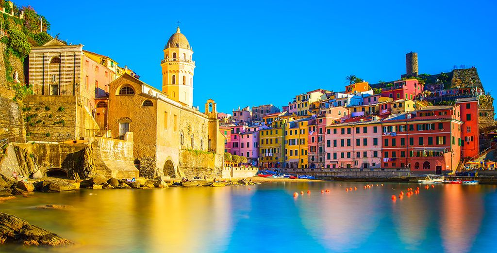 Which is just around the corner from the stunning Cinque Terre - a UNESCO world heritage site!