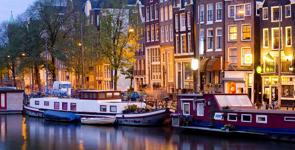 Explore the charming city of canals - Hotel Roemer**** - Amsterdam Amsterdam