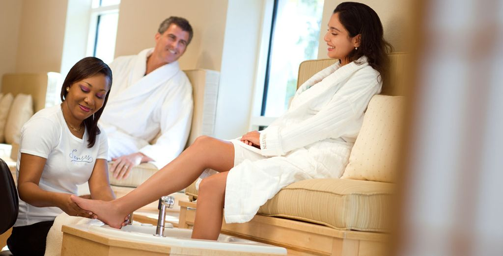 Indulge yourself with a superb spa treatment