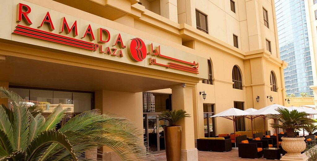 For a stay at the Ramada Plaza Jumeirah Beach