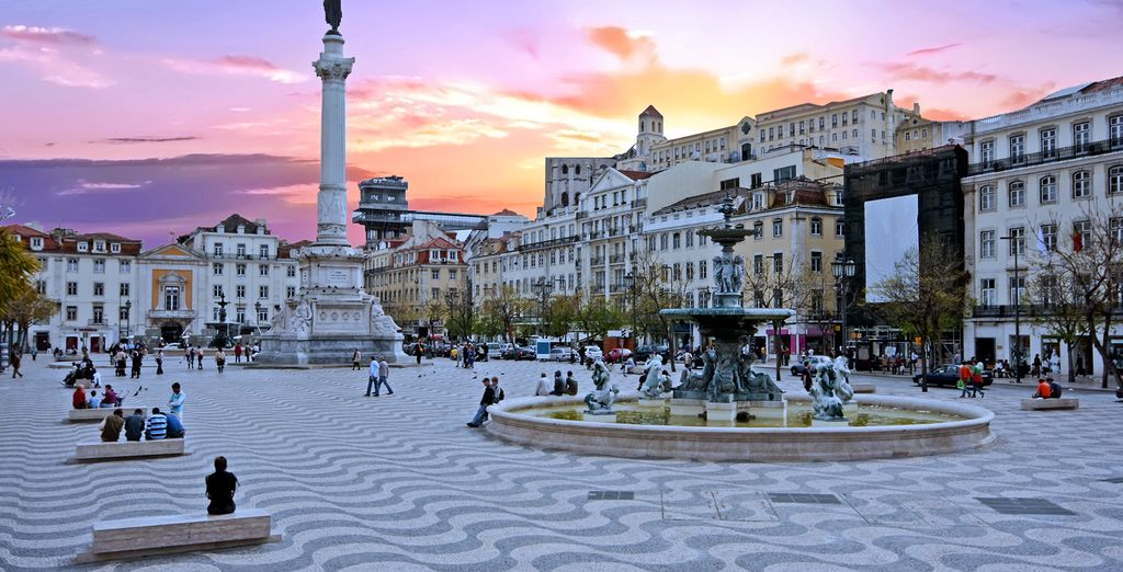 Welcome to Lisbon - Hotel Santa Justa 4* Lisbon