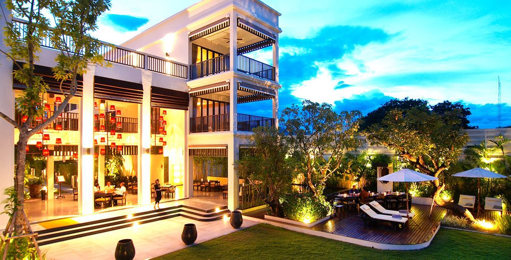 Aruntara Riverside Boutique Hotel 4* for Holidays to Thailand