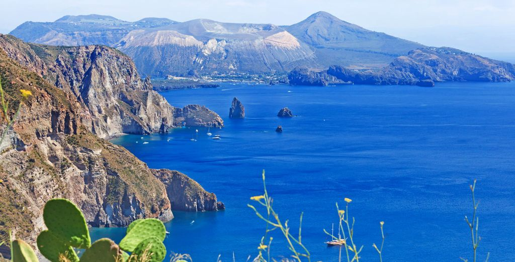 Located in lovely Lipari
