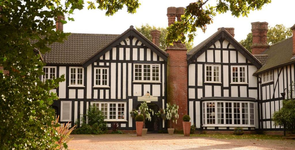 Stay at this charming country house in the East of England