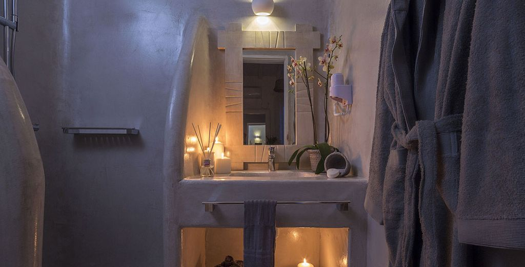 And beautiful ensuite