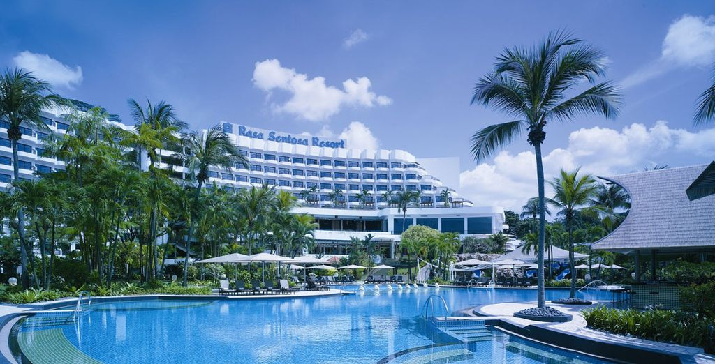 You can also choose to add a further five night stay at the Shangri-La Rasa Sentosa!