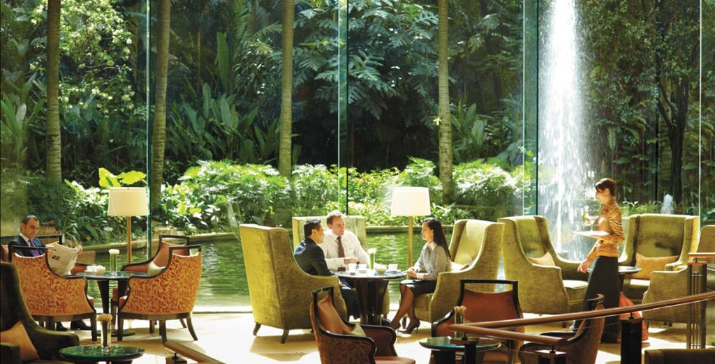 Then relax in your hotel's peaceful surroundings