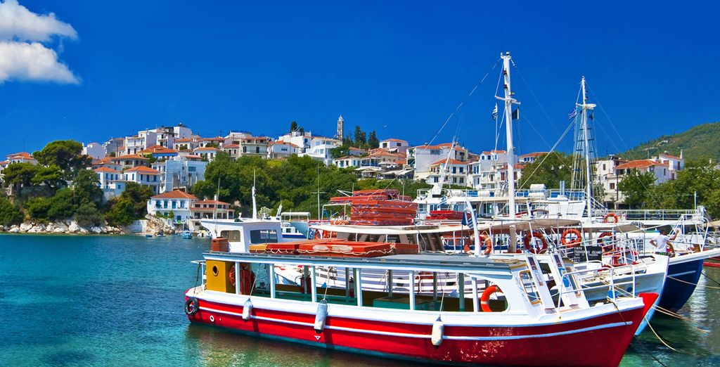 Head down to the harbour and experience island life at its finest