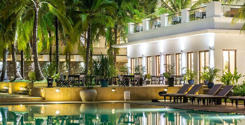 You will stay in some fantastic 4* hotels throughout (Lotus Blanc)