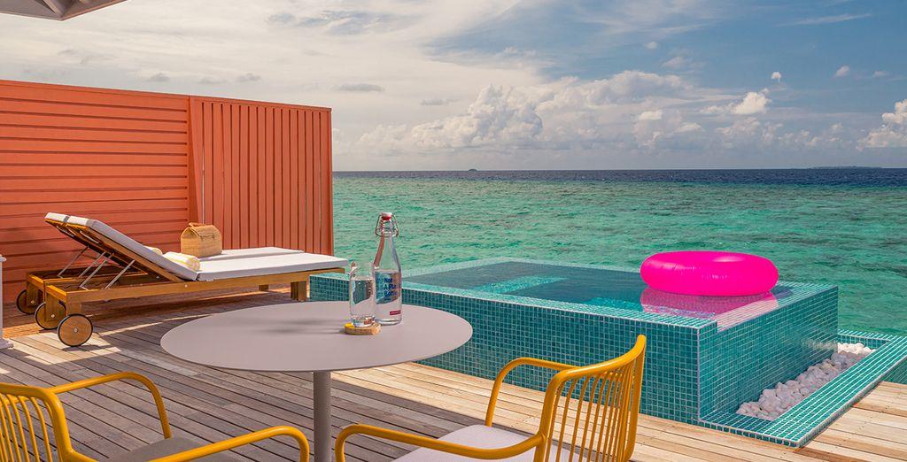 The Standard Huruvalhi Maldives 5* Luxury - honeymoon