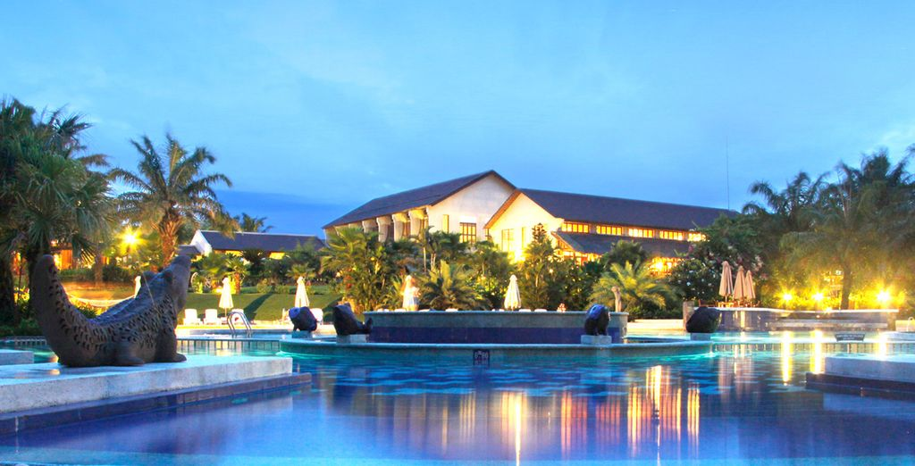 Stay at the Palm Garden Resort