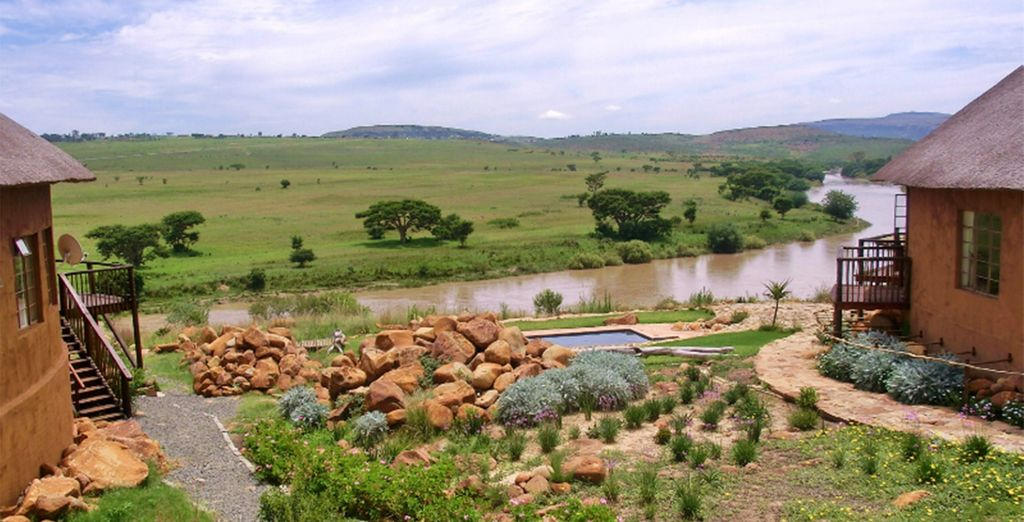 You will then delve into the country's history at the battlefields of Rorke's Drift