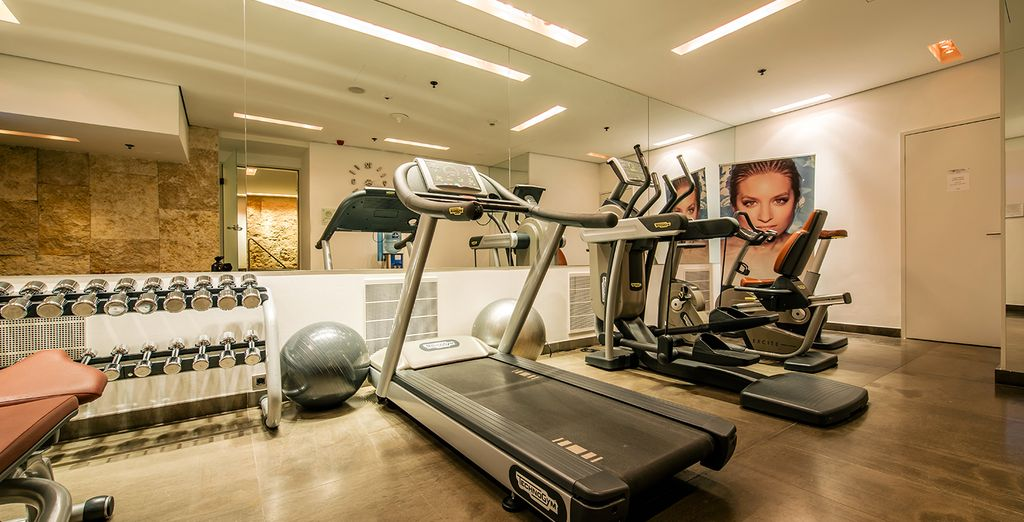 Visit the fitness center