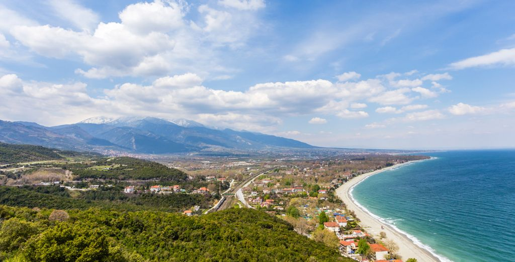 Discover the picturesque seaside town of Platamon in the region of Pieria