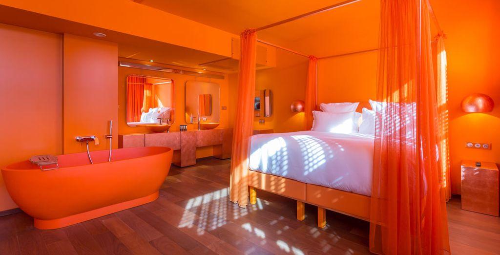 (pictured: Designer Sunset Suite)