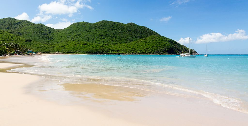 And bask in the sun on the pristine beaches of St. Maarten