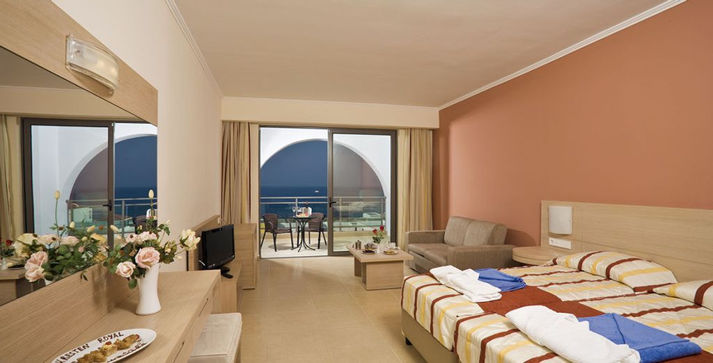 or simply a Junior Suite with a Sea View