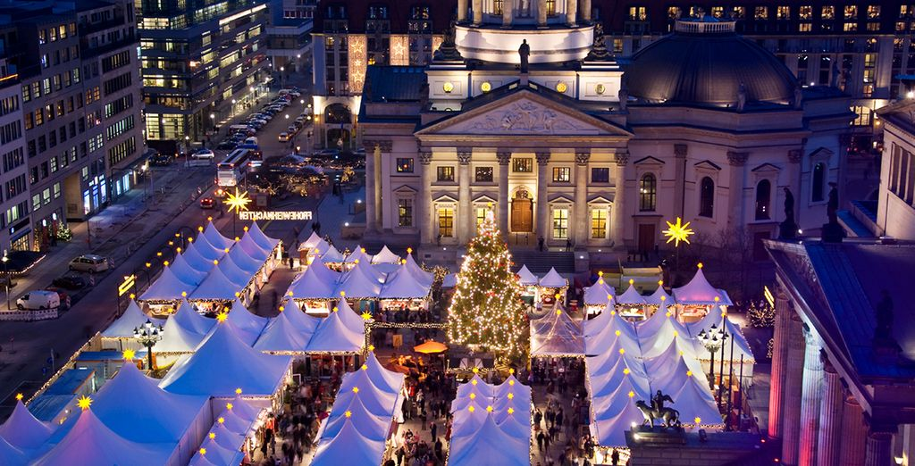 Don't miss the Christmas markets if you're travelling in the festive season!
