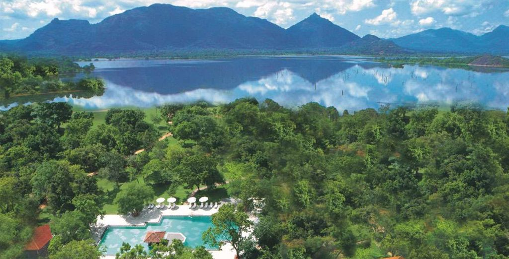 You'll stay at excellent hotels along the way, such as Amaya Lake