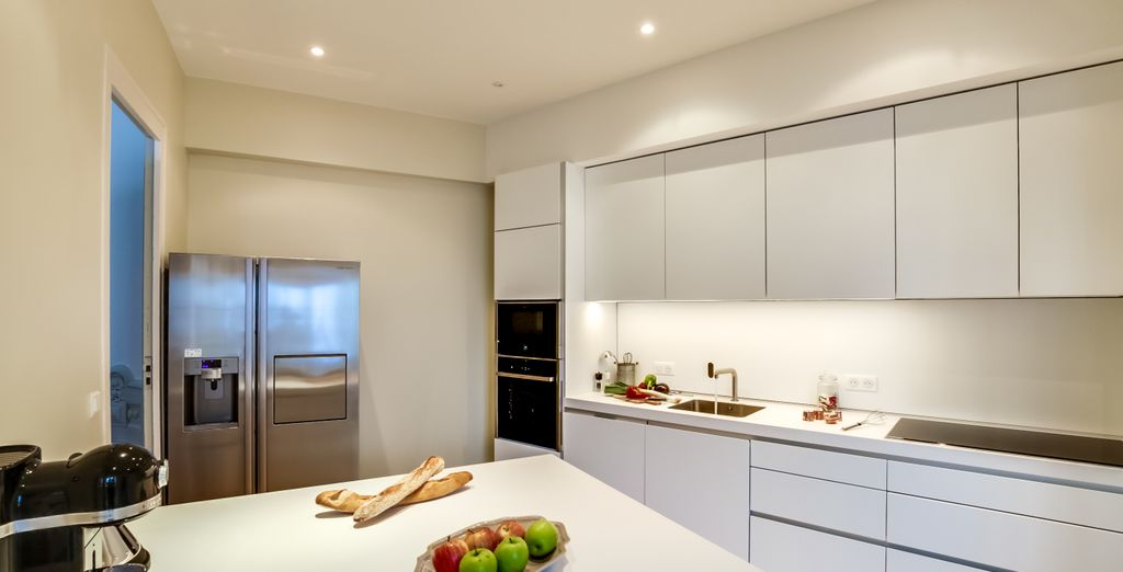A spacious and functional kitchen
