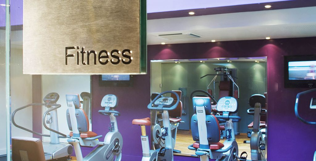 Or if you'd prefer, work towards your goals in the fitness centre