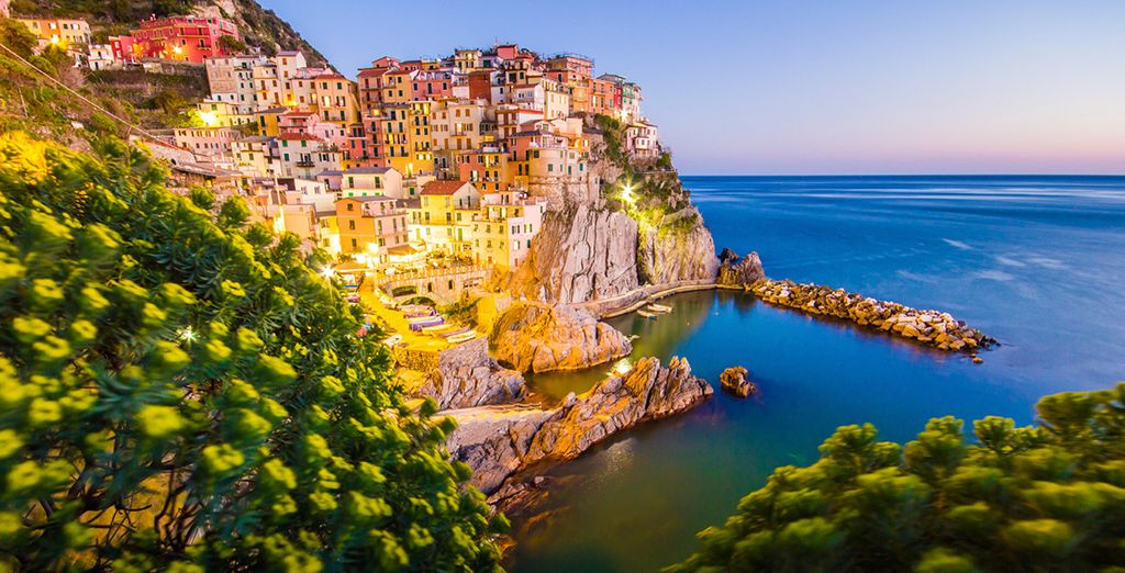 Or some UNESCO world heritage sites such as Cinque Terre