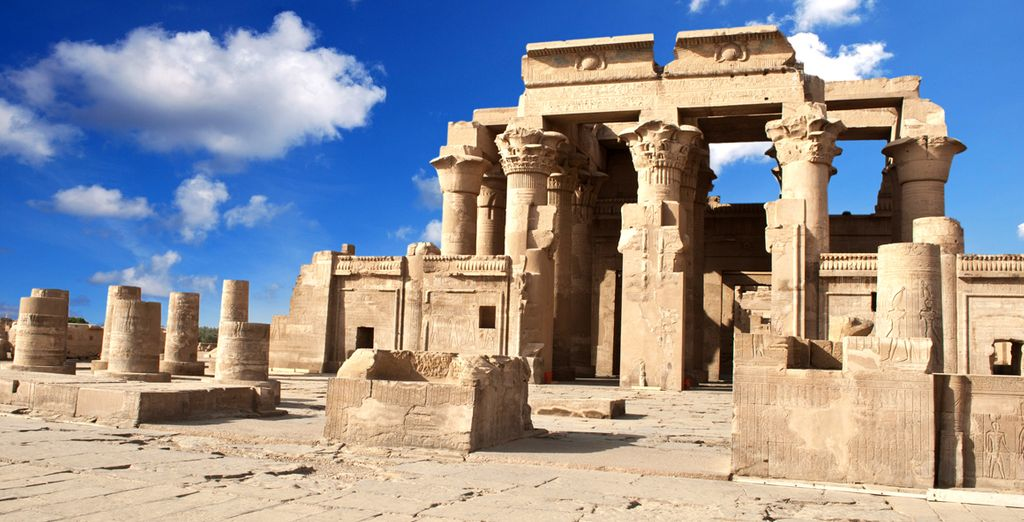 And the Kom Ombo Temple