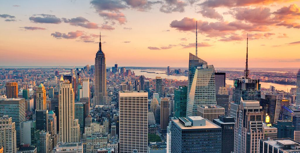 Start your stay in the shimmering lights of the Big Apple - Avalon Hotel 4* & Paris Hotel 4* New York & Las Vegas
