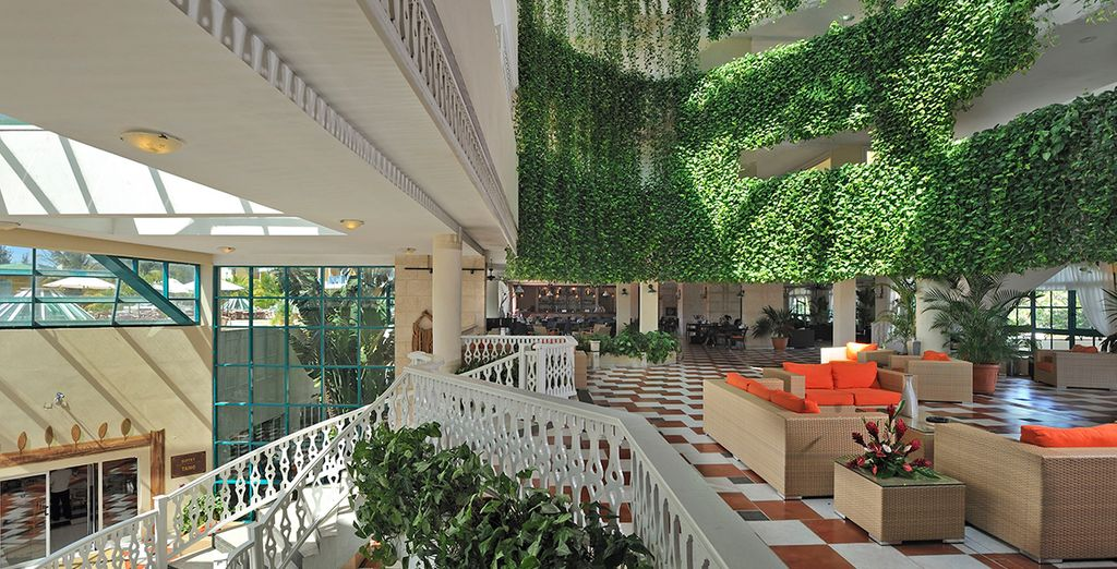 Evoking the feel of a great holiday hotel