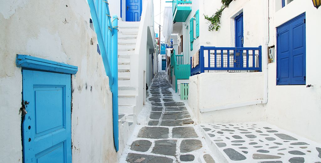 Or head out into the colourful town