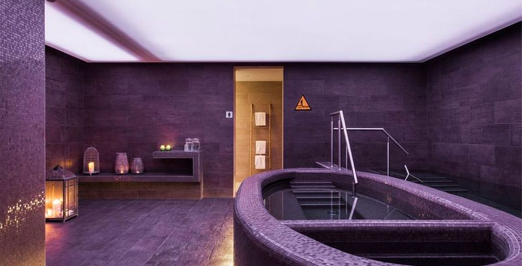 Or indulge at the hotel's new Heilsa Spa