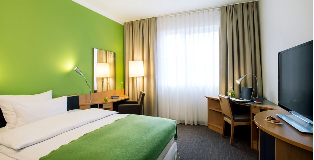 Where a comfortable modern room will be your refuge after sightseeing