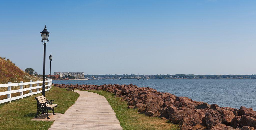 Enjoy the unspoilt coastal stretches of Prince Edward Island