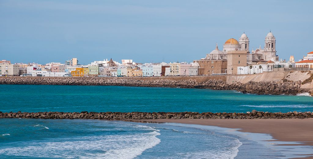 Or explore further with a trip to Cadiz just 45 mins away - you can include car hire!