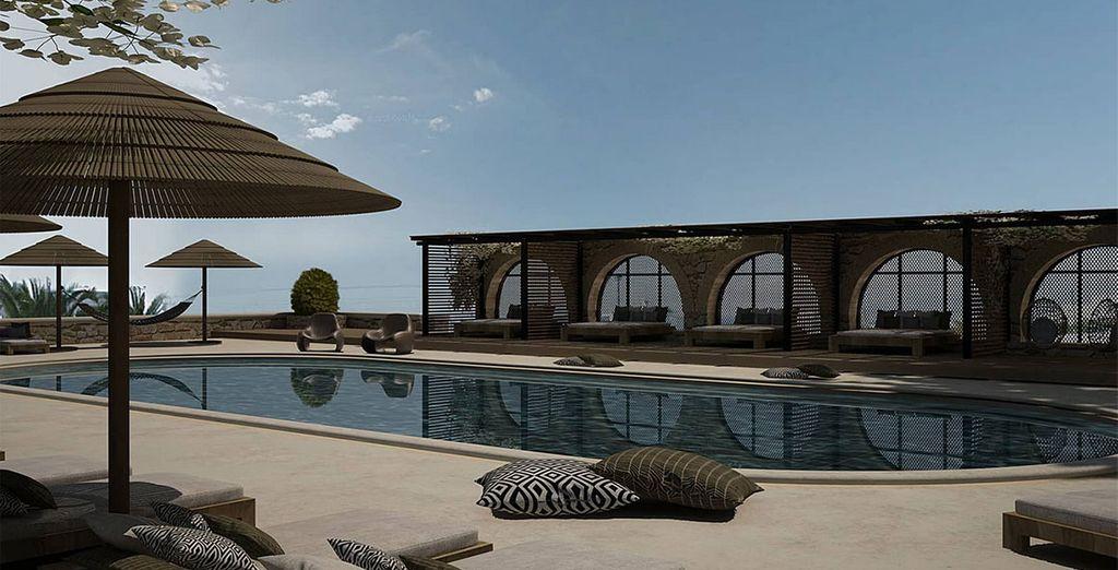 set in a magnificent and peaceful location in mykonos my mykonos hotel mykonos