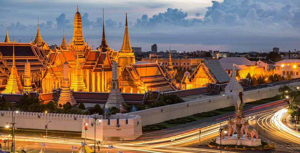 And explore this wonderful city before heading to Khao Lak