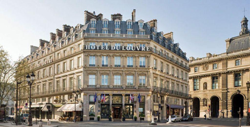 - Hotel Du Louvre***** - Paris - France Paris