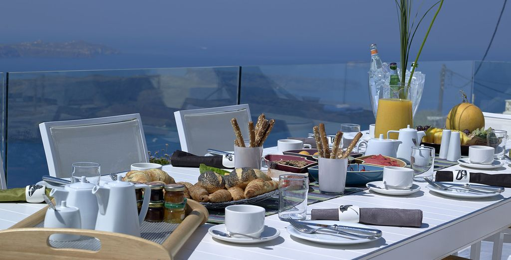 Our offer includes daily breakfast, enjoyed on the terrace or in your room