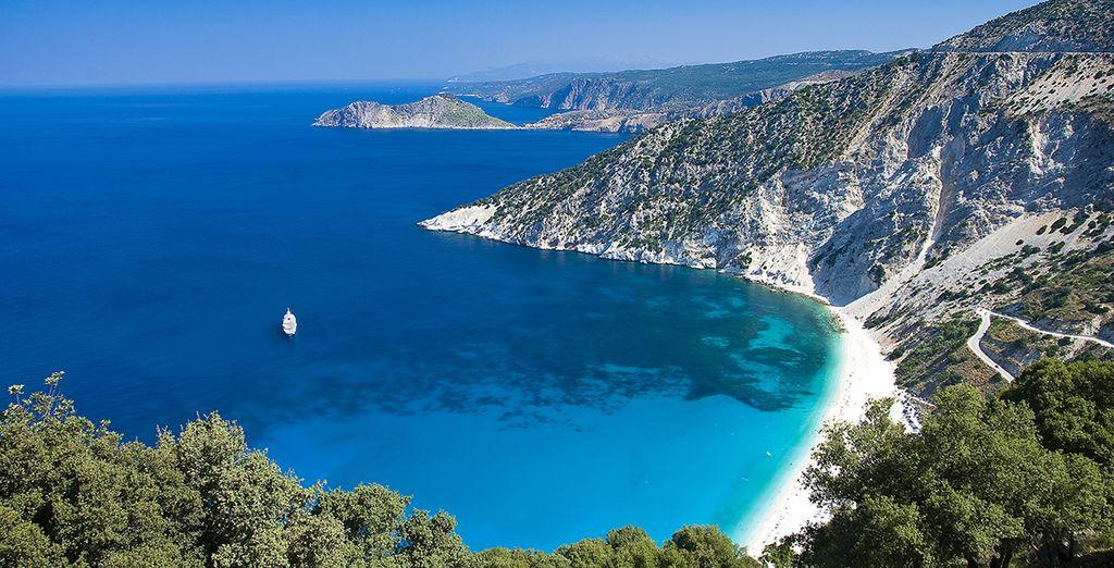 On the beautiful island of Kefalonia