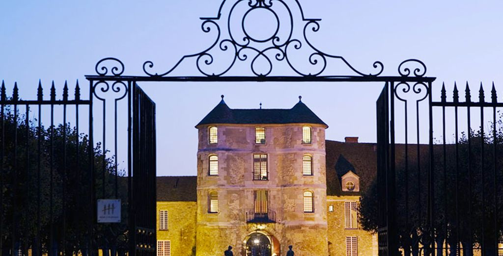 Revel in the grand elegance of the Chateau De Villiers